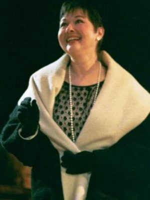 as Mrs. Wiggins in A Southern Christmas Carol